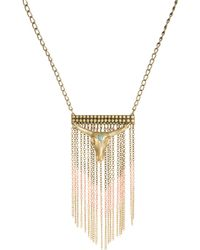 Wildfox - Bull Chain Necklace - Lyst
