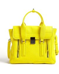 3.1 Phillip Lim Electric Yellow Medium Pashli Satchel - Lyst