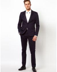 Asos Slm Fit Suit Jacket - Lyst