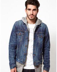 Edwin Denim Jacket Bronco Blurred Wash - Lyst