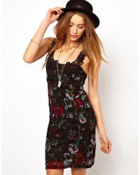 Free People Printed Dress - Lyst
