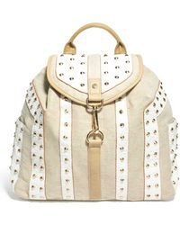 River Island - Studded Backpack - Lyst