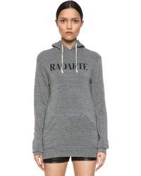 Rodarte Radarte Hoodie gray - Lyst