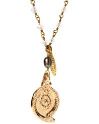 Sam Ubhi - Shell Charm Necklace - Lyst