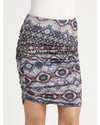 Torn - Ella Draped Skirt - Lyst
