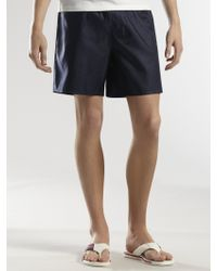 Gucci Blue Swim Shorts - Lyst