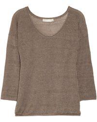 Kain Raine Openknit Linenblend Sweater - Lyst