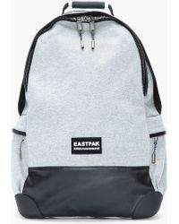 Kris Van Assche Heather Grey Leathertrimmed Backpack - Lyst