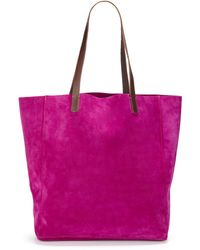 Massimo Palomba - Suede Tote Bag - Lyst