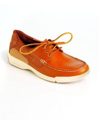 Polo Ralph Lauren Carrick Leather Boat Shoes - Lyst