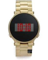 Storm | Camden Digital Goldtone Stainless Steel Watchgold | Lyst
