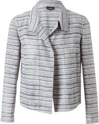 Akris - Woven Cottonwool Jacket - Lyst