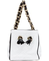 DSquared2 Quilted Box Tote - Lyst