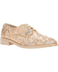 Markus Lupfer Sequined Brogue - Lyst