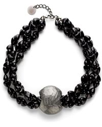 Pono - Capture Necklacecharcoal - Lyst