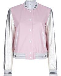 MSP - Colour Block Jacket - Lyst