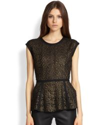 Rachel Zoe Jennifer Lace Top - Lyst