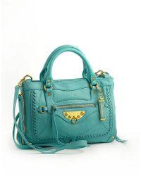 Sam Edelman Colette Leather Satchel Bag - Lyst