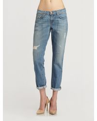 J Brand Slouchy Boy Jeans - Lyst