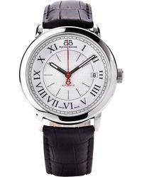 88 Rue Du Rhone - Mens Roman Numeral Leather Strap Watch - Lyst