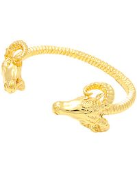 Black Scale - The Ram Bracelet in Gold - Lyst
