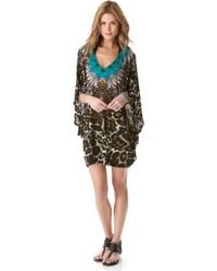 Camilla Bat Sleeve Cover Up Dress - Lyst