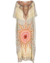Camilla Patterned Kaftan Dress multicolor - Lyst