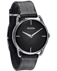 Nixon The Mellor Watch in Black - Lyst