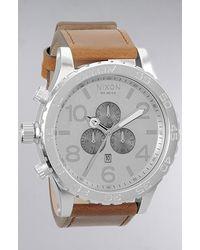Nixon The 5130 Chrono Watch in Saddle - Lyst