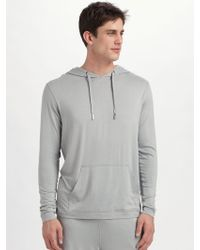 American Essentials - Jersey Pullover Hoodie - Lyst