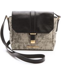 Marc By Marc Jacobs Natural Selection Distressed Mini Messenger - Lyst