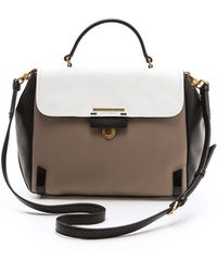 Marc By Marc Jacobs Sheltered Island Colorblock Top Handle Bag - Lyst