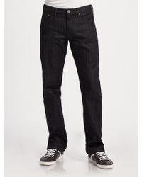 Burberry Brit Straight-Leg Denim Jeans - Lyst