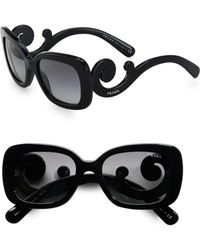 Prada Baroque Square Sunglasses - Lyst