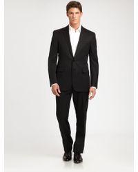Ralph Lauren Black Label Anthony Wool Gabardine Suit - Lyst