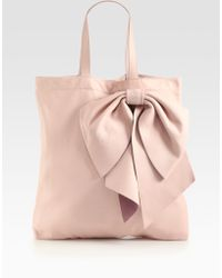 RED Valentino Bow Tote - Lyst