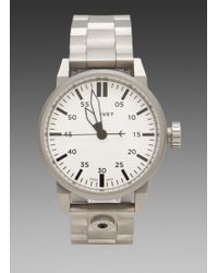 Tsovet Watch in Silver White - Lyst