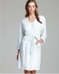Carole Hochman - Seashell Printed Short Robe - Lyst