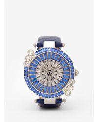 Galtiscopio - Marguerite Crystal Dial Watch - Lyst