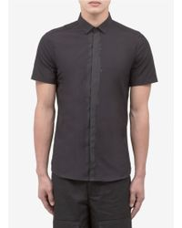 Neil Barrett Cotton Shirt - Lyst