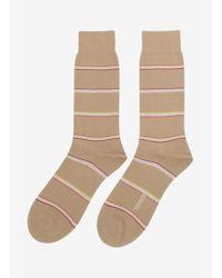 Pantherella | Striped Cottonblend Socks | Lyst