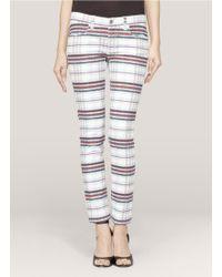 See By Chloé Printed Skinny Jeans - Lyst