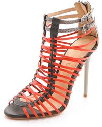 L.a.m.b. Payton Strappy High Heel Sandals - Lyst