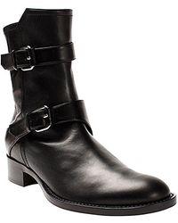 Nicole Miller - Runway Flat Boot - Lyst