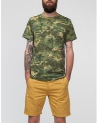 Obey Thrashed Tee - Lyst