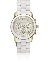 Michael Kors Runway 38Mm Chronograph Watch - Lyst