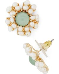 ModCloth 'Reach For The Moonflower' Earrings - Lyst