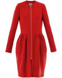 Preen By Thornton Bregazzi Robyn Crepe Dress Coat - Lyst