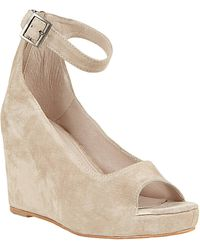 Steve Madden Lesliee Floral Printed Wedge Sandals - Lyst