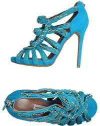 Tabitha Simmons Platform Sandals - Lyst